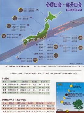 2012年5月21日金環日食情報4