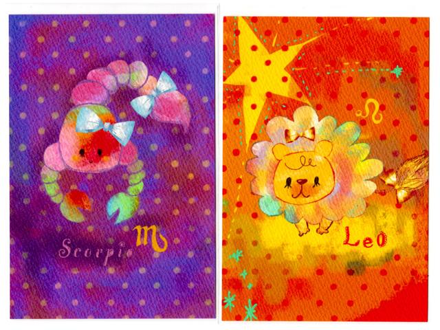 蠍&獅子カード