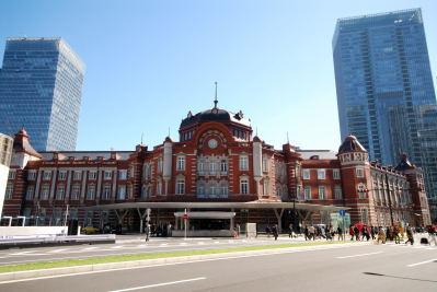 新装なった東京駅