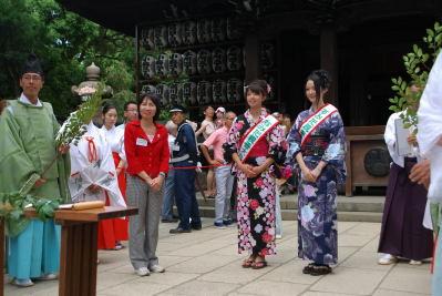 牛島神社の大祭