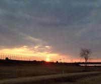 140122_10城島の夕陽