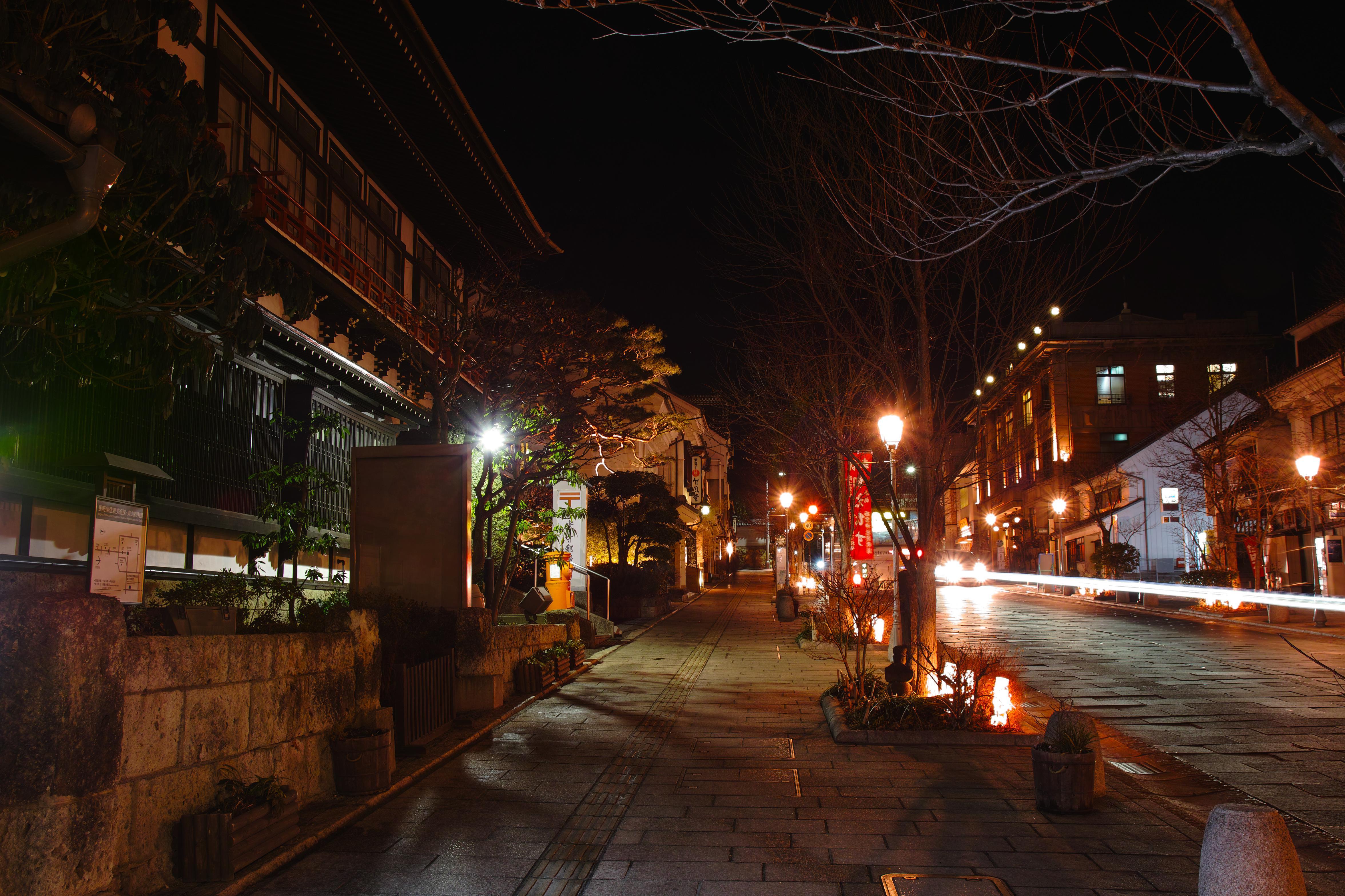 夜の善光寺参道Ⅱ_compressed