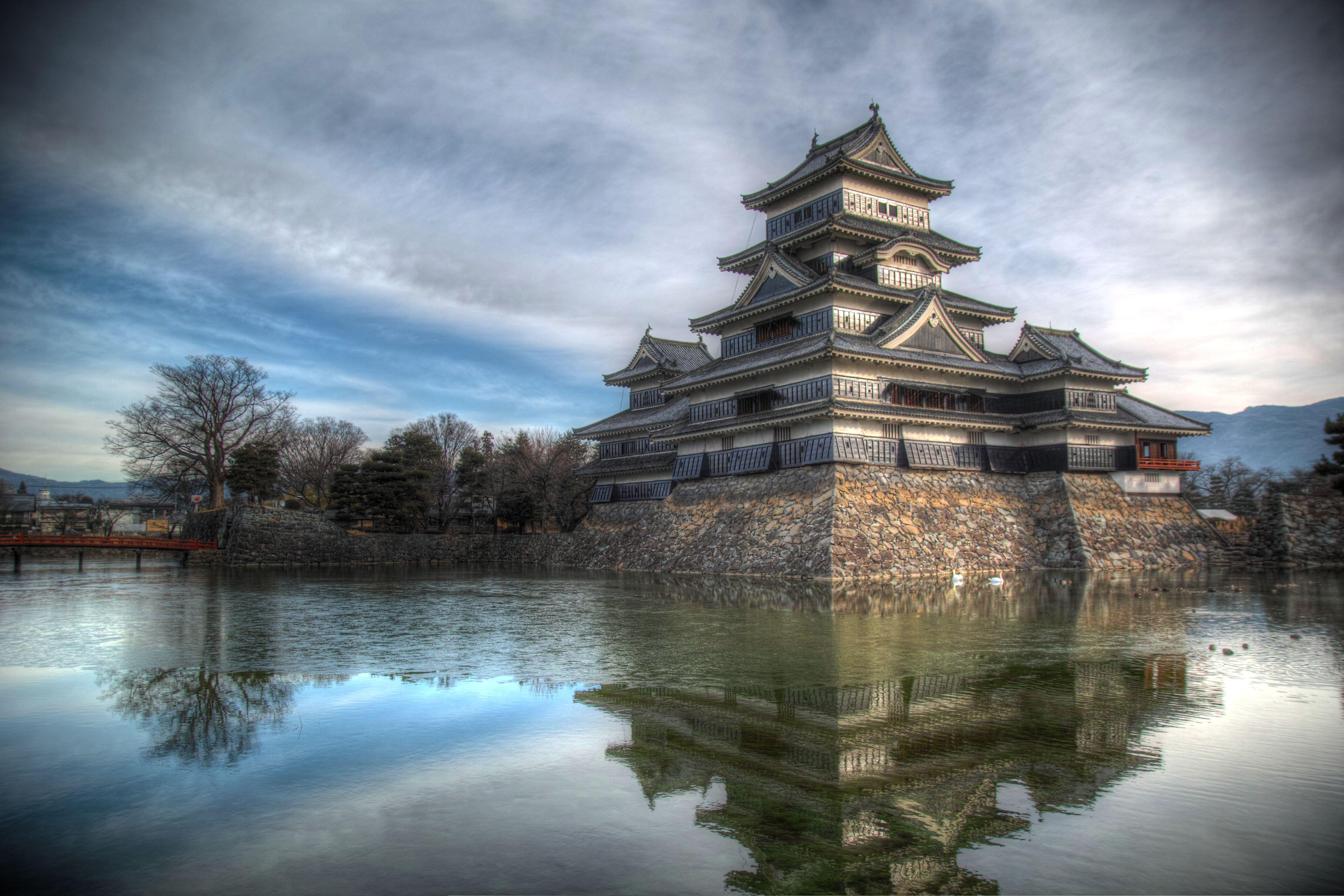 冬の松本城HDR_compressed