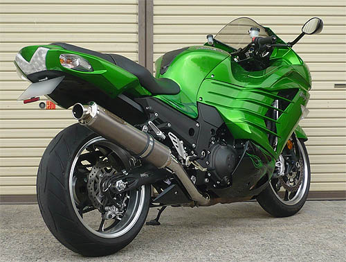 ZX-14 ZEEX SO One tail 008