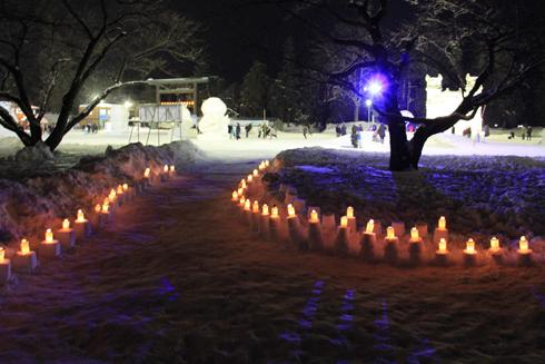 弘前雪祭り2013夜(2)-1