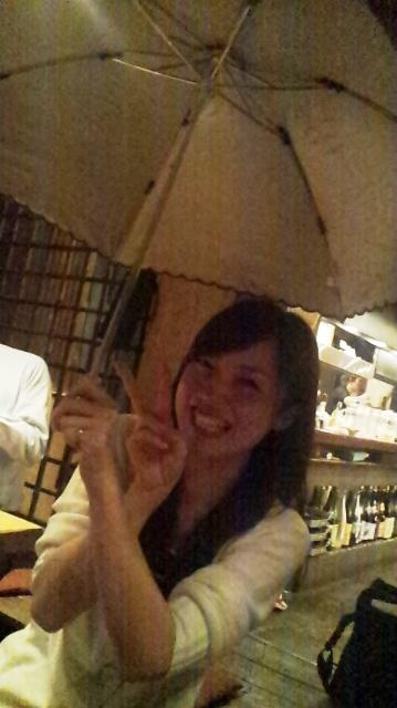 傘のプレゼントでした