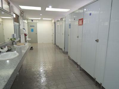 ワット・プラシンのトイレ