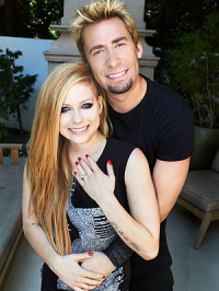Avril and Chad