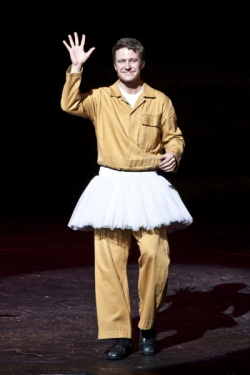 Will in the Billy Elliot the Musical