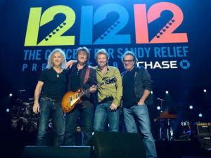 Bon Jovi at 121212 Concert