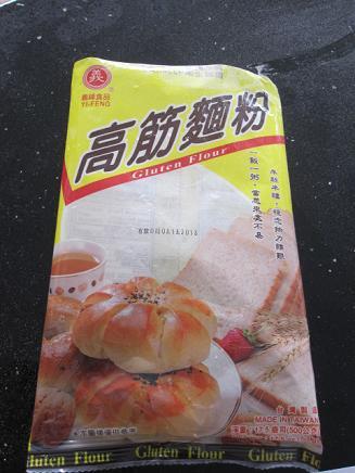 中国の強力粉