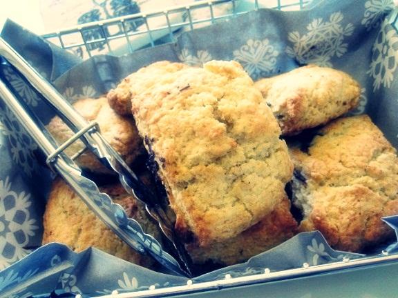 Choc scones