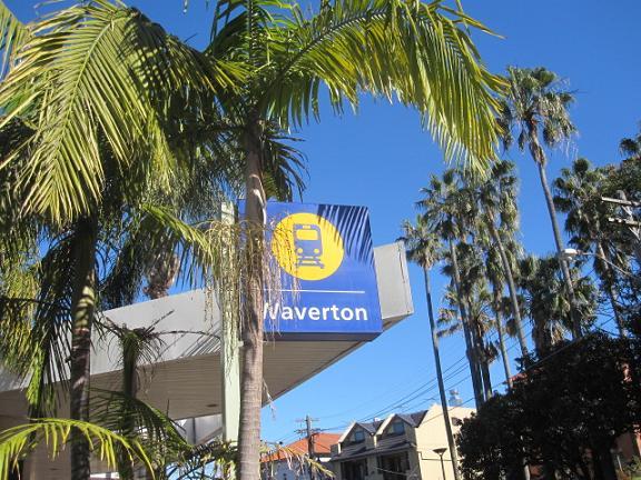 Waverton駅