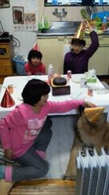 ピーちゃん誕生日1