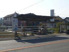 浜川バス停(甘木・朝倉街道・二日市方面)