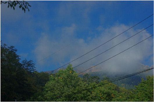 伊左治御岳噴火画像1
