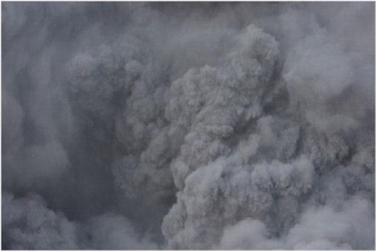 伊左治御岳噴火画像10