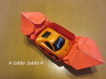 折り紙ハート箱
