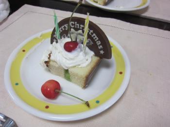 実家誕生日ケーキ