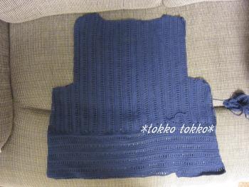 ヨーロッパの手編み2012夏表紙ワンピ3