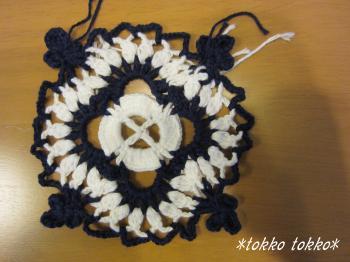 ヨーロッパの手編み表紙チュニック2