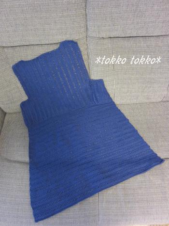 ヨーロッパの手編み表紙チュニック1