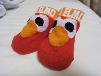 エルモ靴下