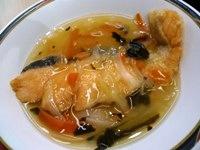 130227 (2)鮭の黒酢南蛮
