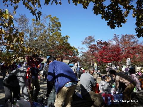 20121118紅葉の高尾山~小仏城山-006