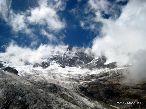swiss zermatt glacier