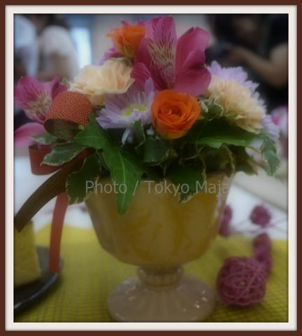 敬老の日「日比谷花壇」スイーツ+お花