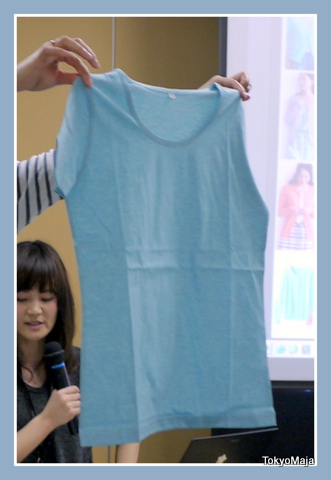 汗ジミ対策クールネックシャツ