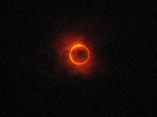 金環日食②