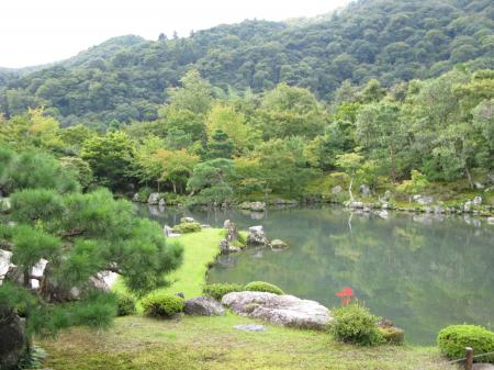 天竜寺のお庭