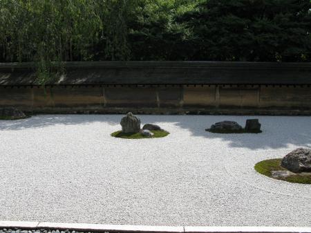 龍安寺枯山水