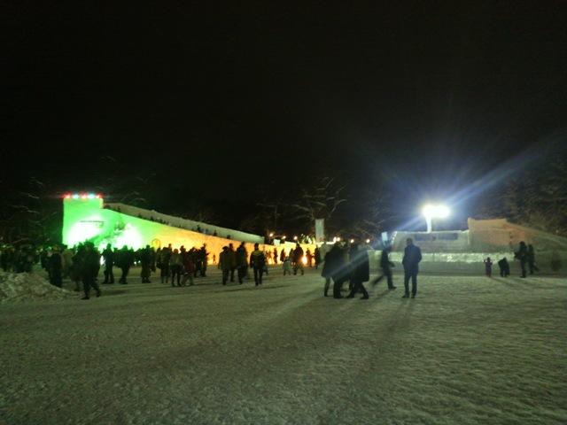 氷祭り初日1