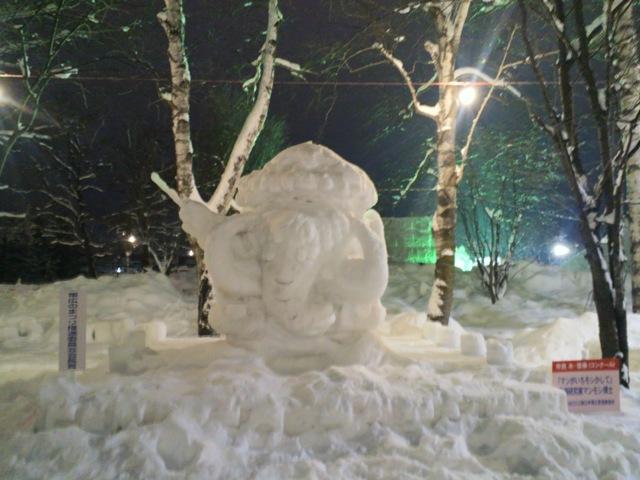 氷祭り初日9