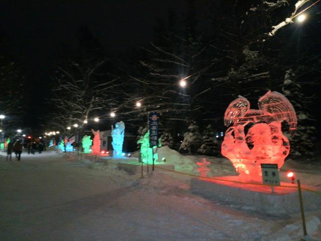 氷祭り初日19