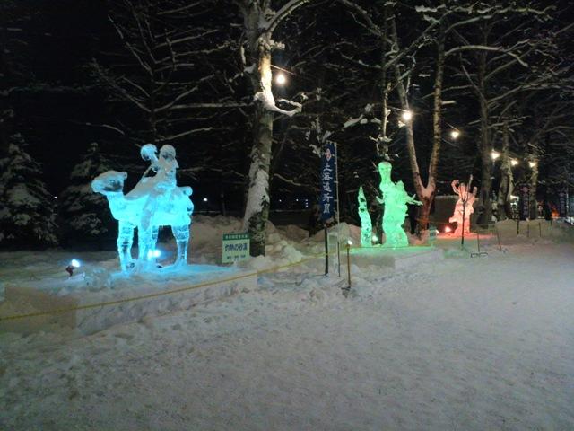 氷祭り初日22
