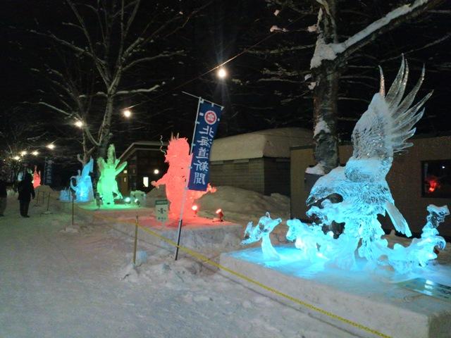 氷祭り初日25