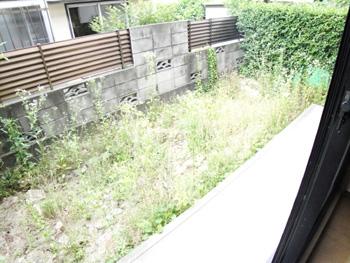 セジュール茶山102号専用庭