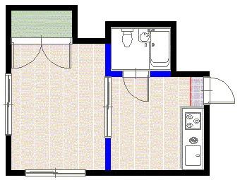 メゾンセピア2号室