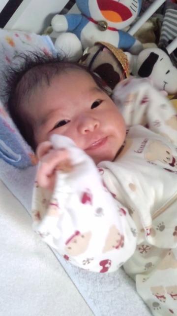 由梨奈2ヶ月