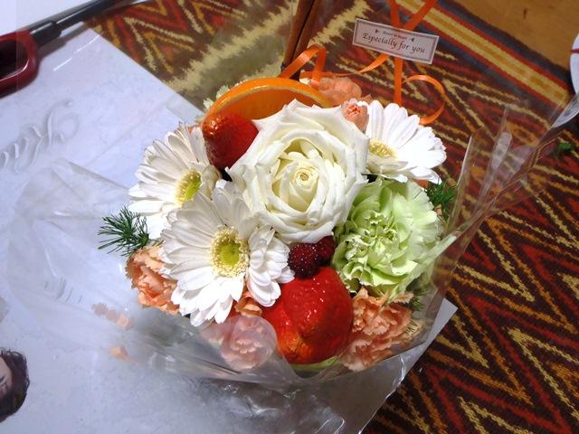 花のケ-キ130227