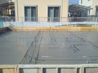 ベースコンクリート打設完了①24.10.20