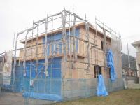壁構造用合板施工24.11.13 001