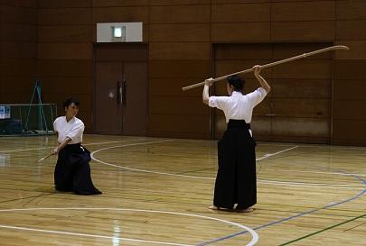 24年度とつか武道フェスティバル(なぎなた)