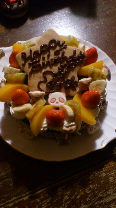 お父さん誕生日ケーキ