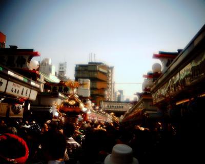 三社祭りの神輿:Entry