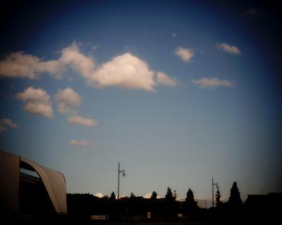 青空と雲と月と:Entry